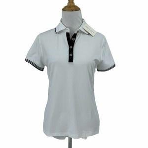 Fairway & Greene Hannah 4 Button Polo Shirt Top